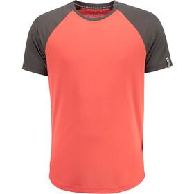 Maloja EhrlbachM. Short Sleeve Multisport Jersey Herr vintage red